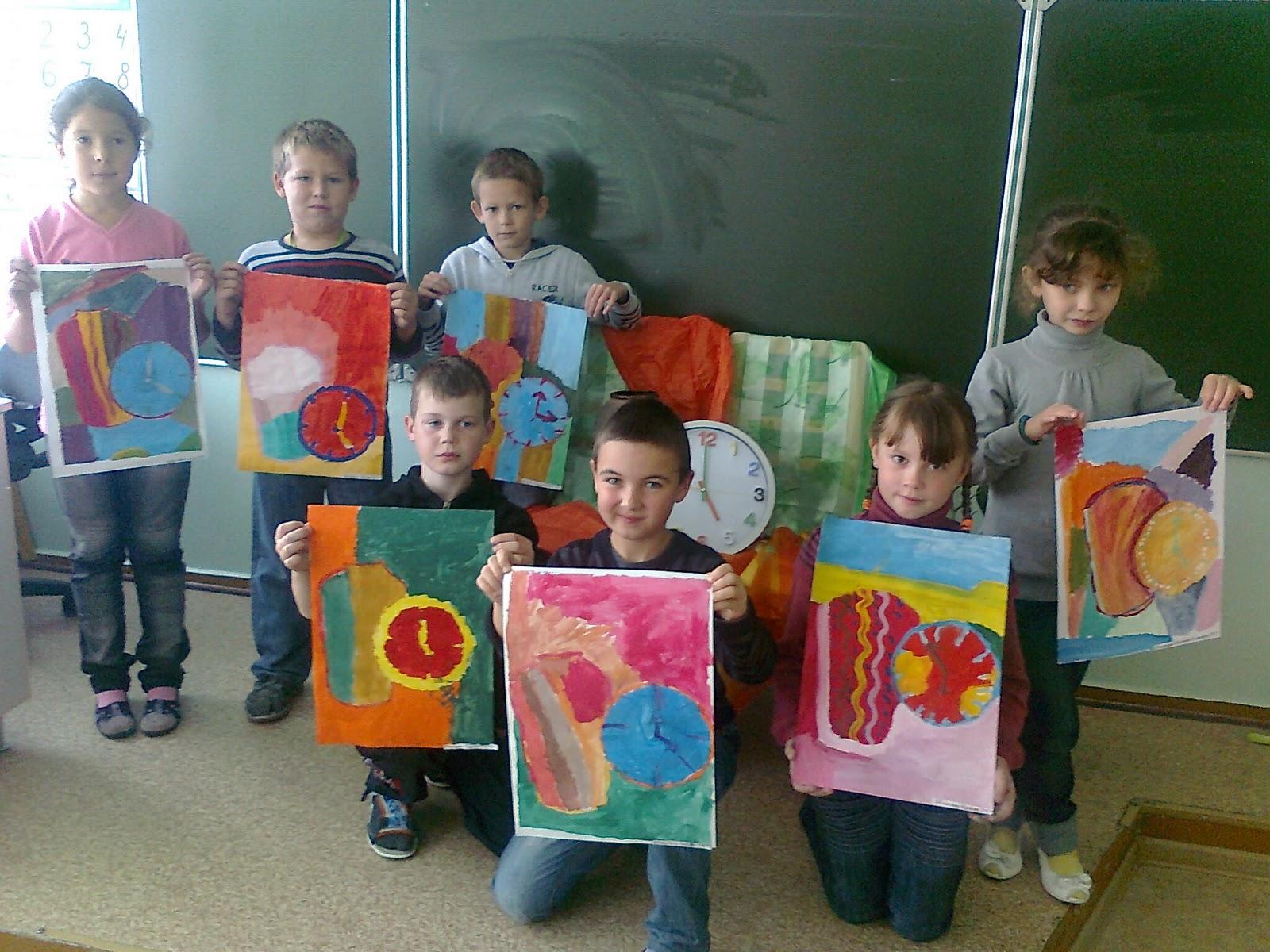 урок рисования знакомство с художниками