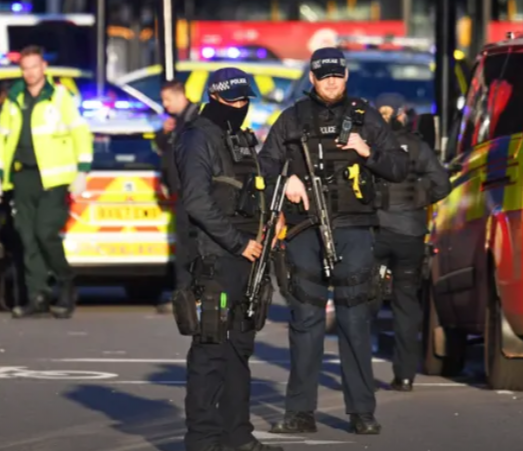 London Bridge terror incident: Suspect shot dead by police, two victims dead and five people injured