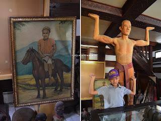 Lukisan dan Patung Tau-Tau di Kete Kesu Tana Toraja Sulsel +Fotojelajahsuwanto