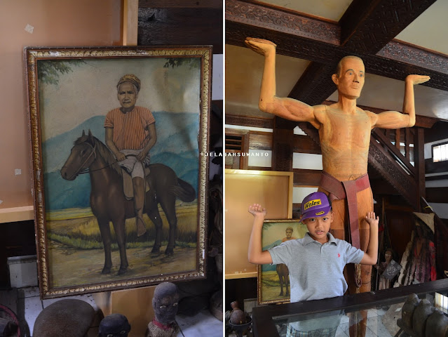 Lukisan dan tau-tau di musem Kete Kesu Tana Toraja || JelajahSuwamto