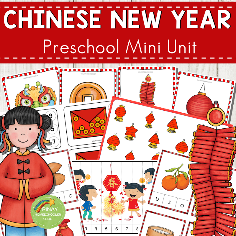Chinese New Year Preschool Mini Unit Activities