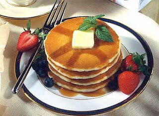 Hot Cakes con Yogurth