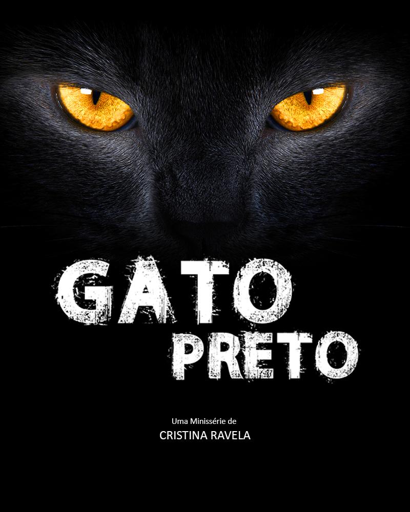Capa da minissérie Gato Preto, de Cristina Ravela