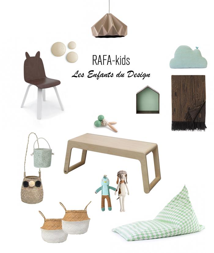 Rafa-kids Les Enfants du Design