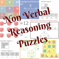 Non Verbal Reasoning Puzzles for Kids