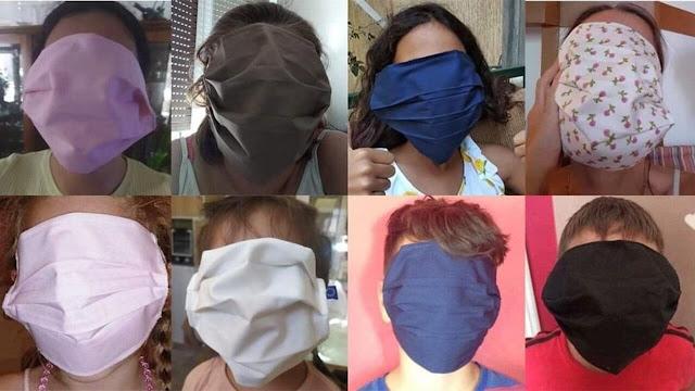 Σταματάει η παραγωγή μασκών μετά το σάλο για το μέγεθος