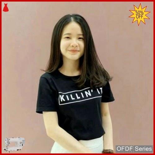 OFDF144 Atasan Kaos Tshirt Killin It Tee BMGShop