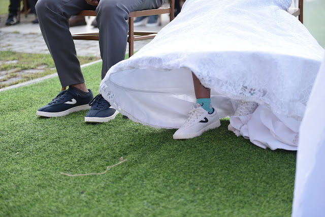 Sneakers on Wedding