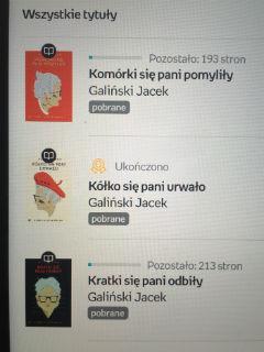 """część pierwsza i dla mnie ostatnia, czyli """"Kółko się pani urwało"""" Jacek Galiński, fot. paratexterka ©"""
