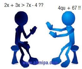 Illustrasi Matematika sebagai bahasa