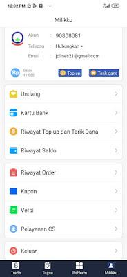Menu Undang BGES Indonesia