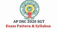 AP School Asst (SE), SGT, PGT, TGT & Other Exam Pattern 2020,Andhra Pradesh DSC Syllabus, Download AP DSC SchoolAssist, Sgt, LP Exam Pattern