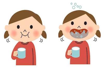 علاج التهاب الحلق بالغرغره