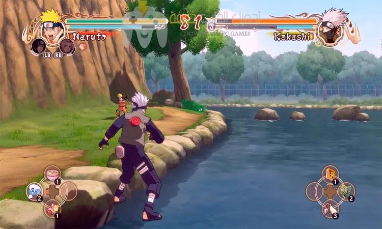 تحميل لعبة Naruto Shippuden Ultimate Ninja Storm 1 للكمبيوتر من ميديا فاير بحجم صغير