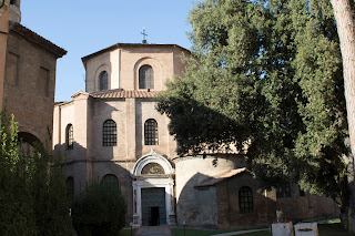 The Basilica of San Vitale is famous for its Byzantine mosaics