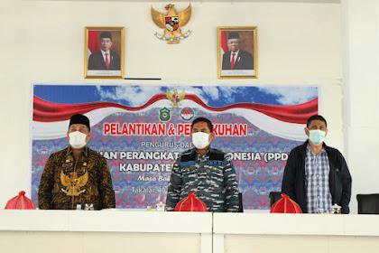 Pelantikan & Pengukuh Pengurus Daerah PPDI Kab. Takalar Masa Bakti 2020-2025