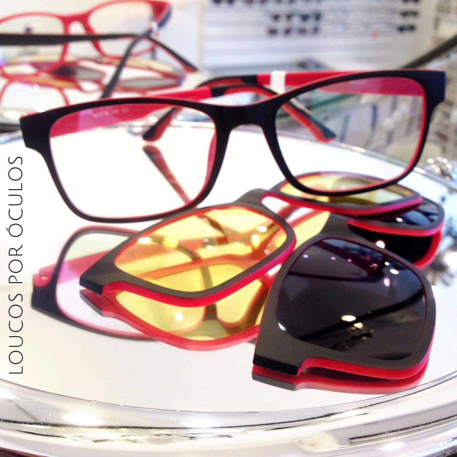 f6630c28f7719 Loucos por Óculos  Clip On 3 em 1 - r  290,00