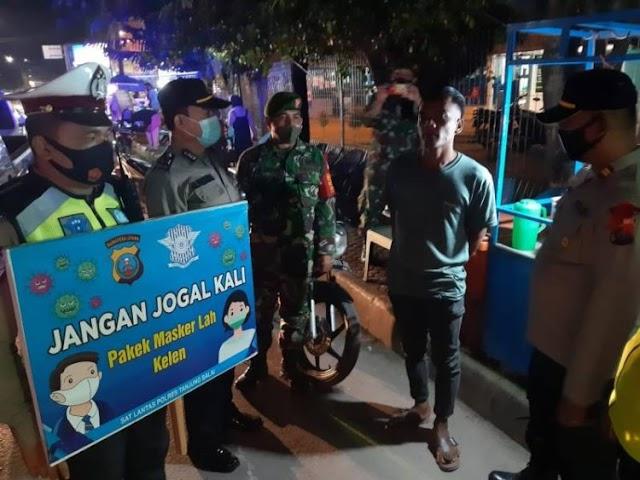7 Lokasi jadi Sasaran Ops Yustisi Personel TNI-Polri
