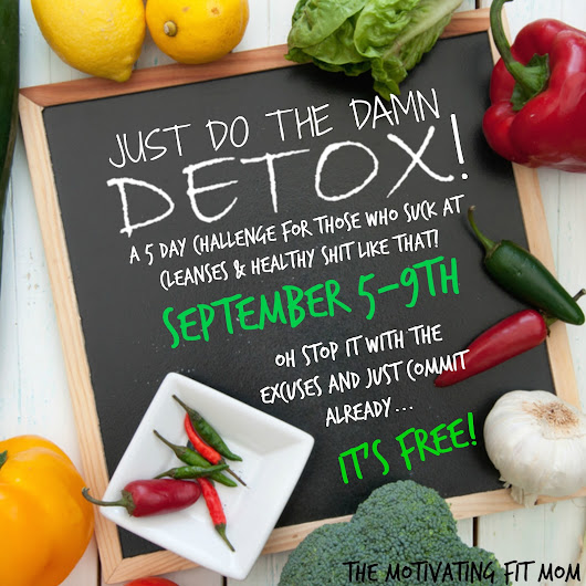 Easy 5 Day Detox (FREE to join!)