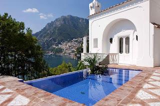 Best Hotels in Positano for Honeymoon villa treville