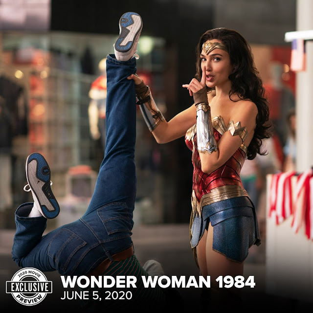 We've Got An Exclusive Image From 'Wonder Woman 1984'