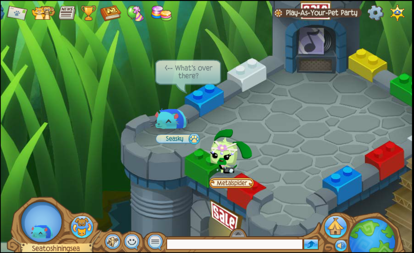 Desk And Chair Animal Jam Conference Room Sasha 39s Jamming Blog Play As Your Pet Party