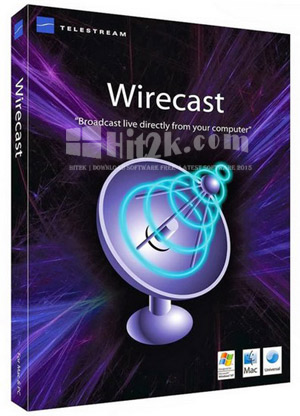 Wirecast Pro 7.6.0 Crack [Latest] Full Version Free!