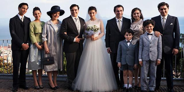 Matrimonio tra Lila e Stefano Carracci