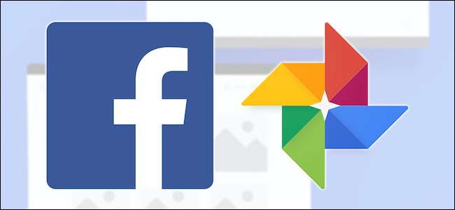 شعارات Facebook و Google Photos