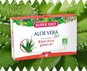 Aloe vera pour le transit