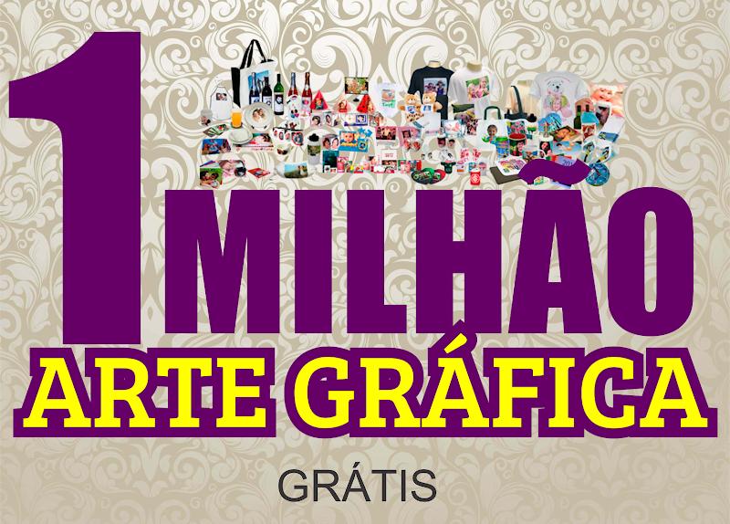Pack 1 Milhão de estampas variadas para Canecas, Almofadas, Camisetas, Chinelos Download Grátis