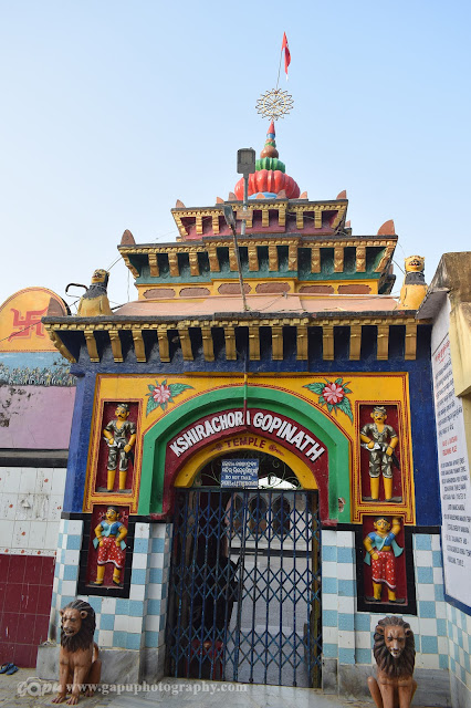 Entrance of Khirachora Gopinath Temple