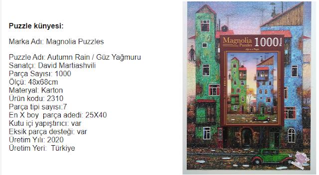 Magnolia Puzzle Martiashvili