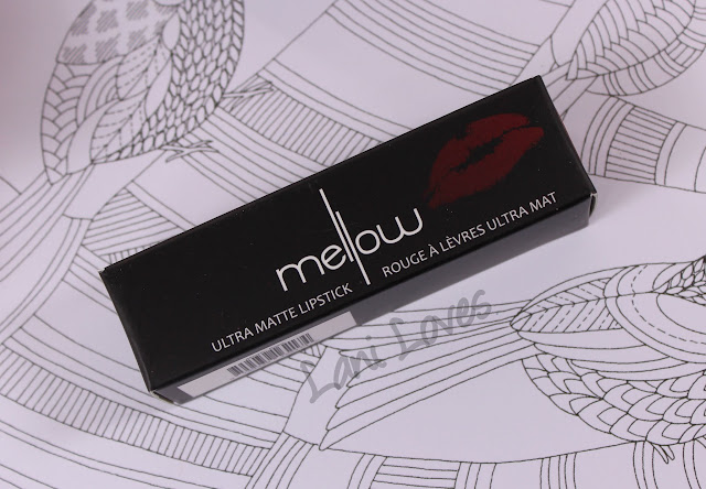 Mellow Ultra Matte Lipstick - Atomic Rose Swatches & Review