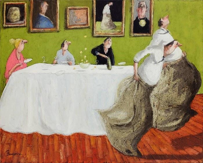 Французский художник-сюрреалист. Thomas Bossard