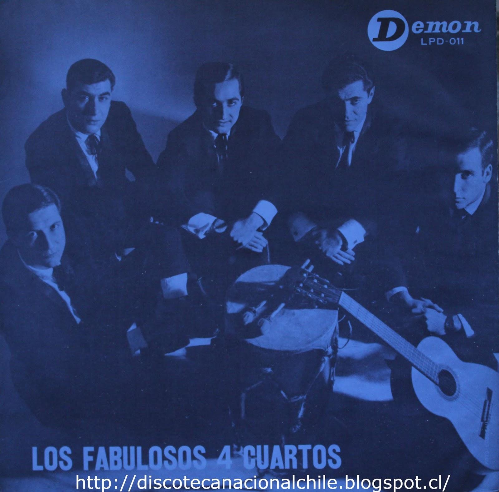 Discoteca Nacional Chile: Los Cuatro Cuartos: Los fabulosos Cuatro ...