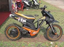 Tips Modifikasi Honda Beat Jadi Trail Modifikasi Otomotif Motor