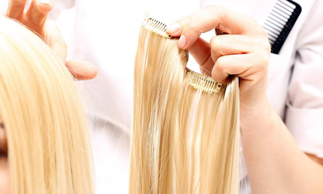 Thick, streaming hair extensions are the solution to reinventing yourself.