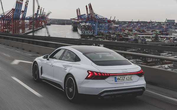 Audi e-Tron GT chega à Europa para enfrentar o Tesla Model S