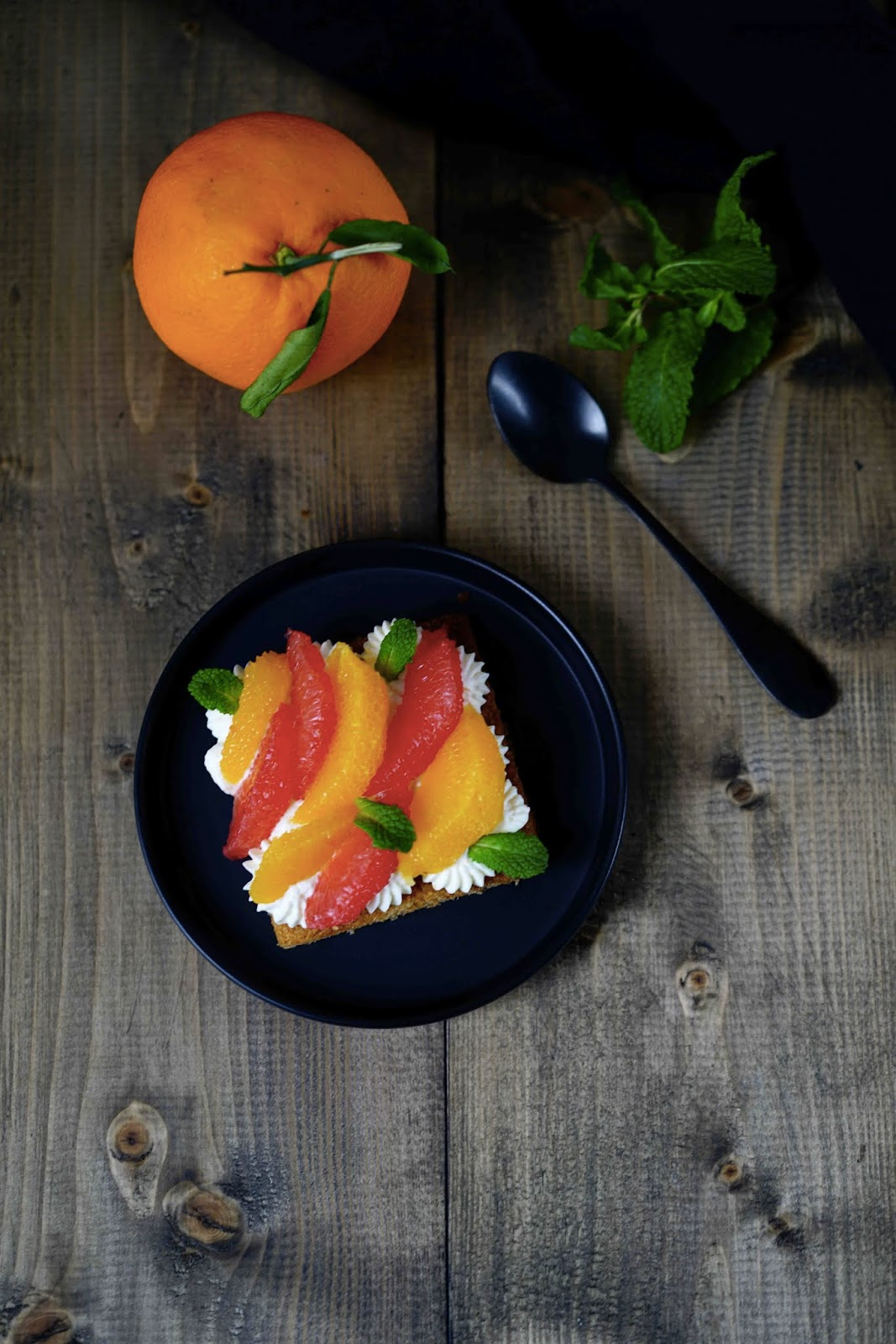 chantilly mascarpone, recette facile ,dessert rapide , agrumes