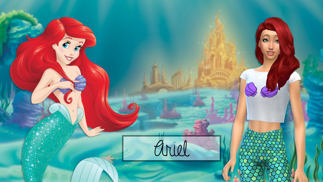 how to make a mermaid sims 3