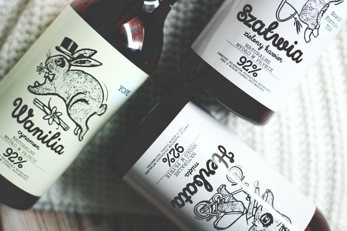 Mydło Yope Szałwia i zielony kawior Herbata i mięta Wanilia i cynamon 7