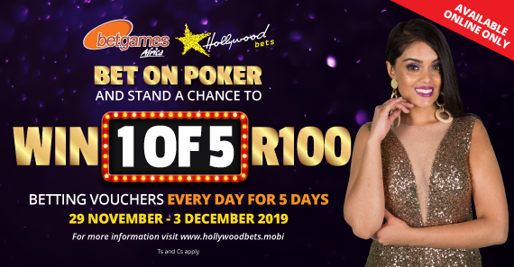 Win 1 of 5 R100 Betting Vouchers Daily