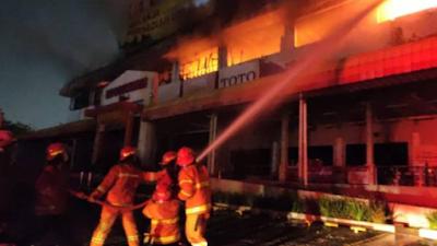 Toko Bangunan di Bekasi Hangus Terbakar, Nilai Kerugian Mencapai Rp1 Miliar