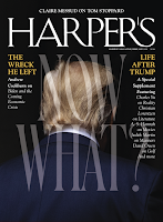 Harper's February 2021 cover