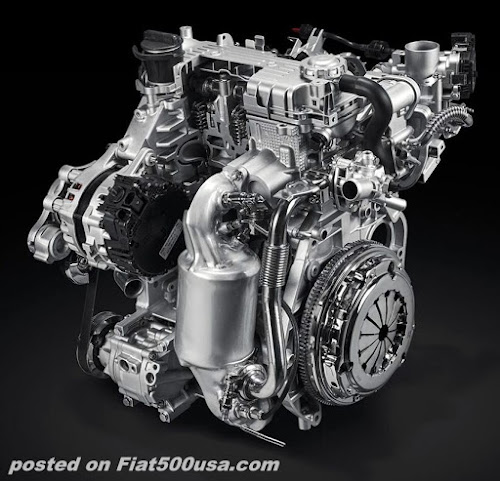 Fiat FireFly Hybrid Engine