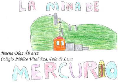 Dibujo de la Mina La Soterraña, Jimena Díaz Álvarez