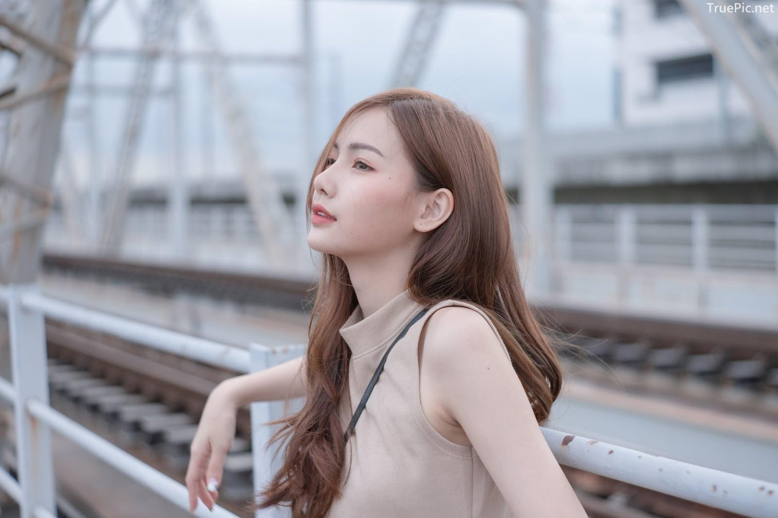 Thailand beautiful model - Pla Kewalin Udomaksorn - A beautiful morning with a cute girl - Picture 2