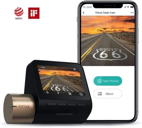 Review 70mai 1080p WiFi Dash Camera for Cars