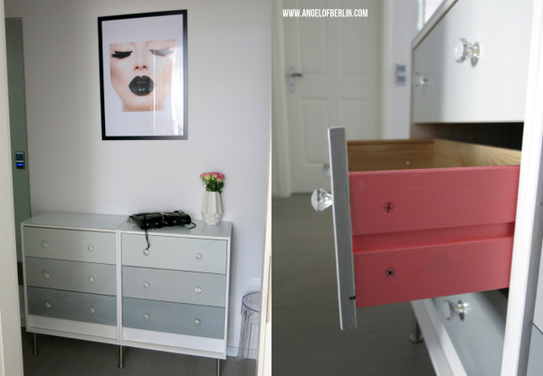 Diy Ombre Dresser Rast Ikea Hack The Nina Edition The Nina